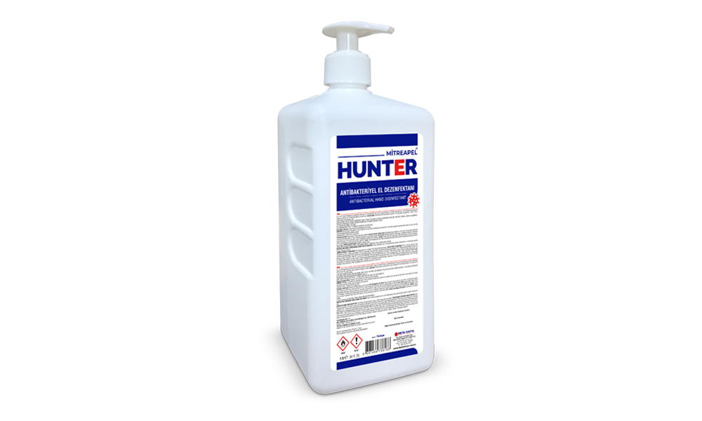 Mitreapel Hunter Antibakteriyel El Dezenfektanı 1000 ml