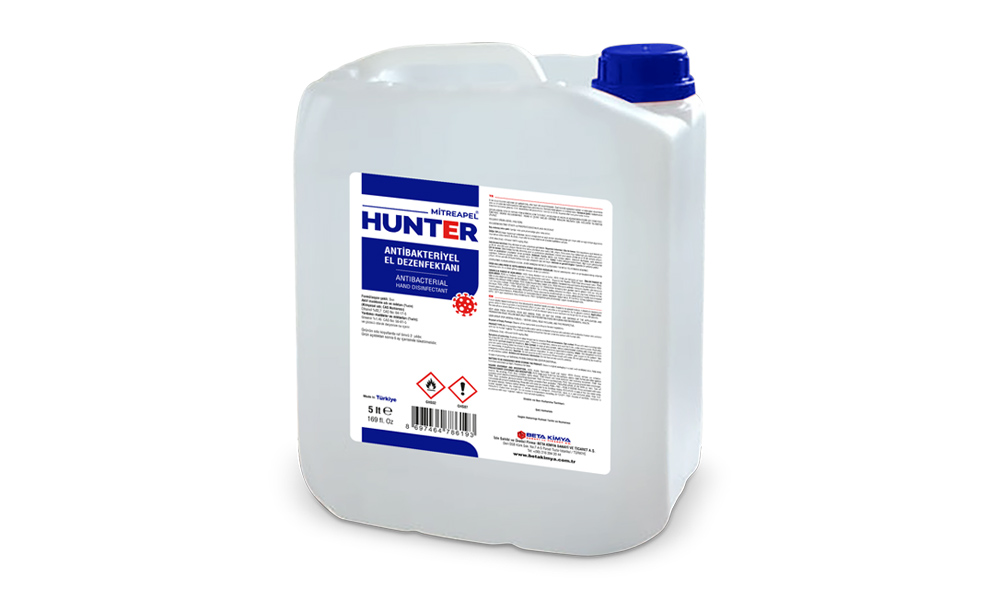 Mitreapel Hunter Antibakteriyel El Dezenfektan 5000ml